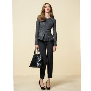 The Limited Scandal Collection Tweed Zip Jacket M